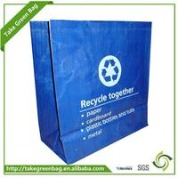 2016 new design clear poly bags for frozen food