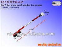 Best-selling car snow removal shovel ice tools, automobile gift 2 in 1 snow brush ice scraper