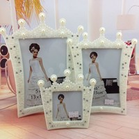 European Classic ABS Resin Photo Frame