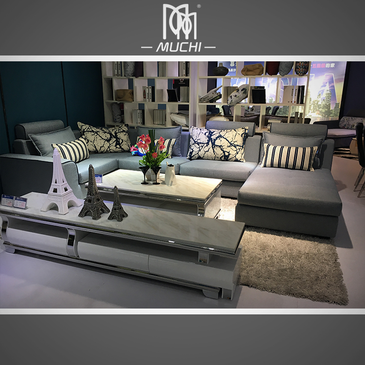 2016 Latest Home Furnishings L Shaped Istanbul Living Divani Sofa