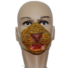 X-MERRY Chinese Zodiac 12 animals Latex Halloween Cardinal Mask Animal Head Mask for all Kinds of Party