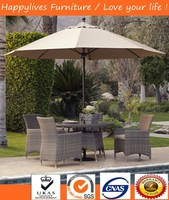 MT3031 Hotsell Foshan outdoor dinning set,Tables and chairs with cushion