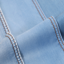 100% tencel stock denim fabric wholesale