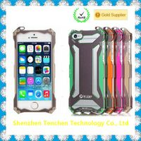 Doom armor Dirt strong Shockproof Metal Aluminum phone case For Iphone 4 4s 5 5s 5c 6 4.7'' 6 Plus 5.5""