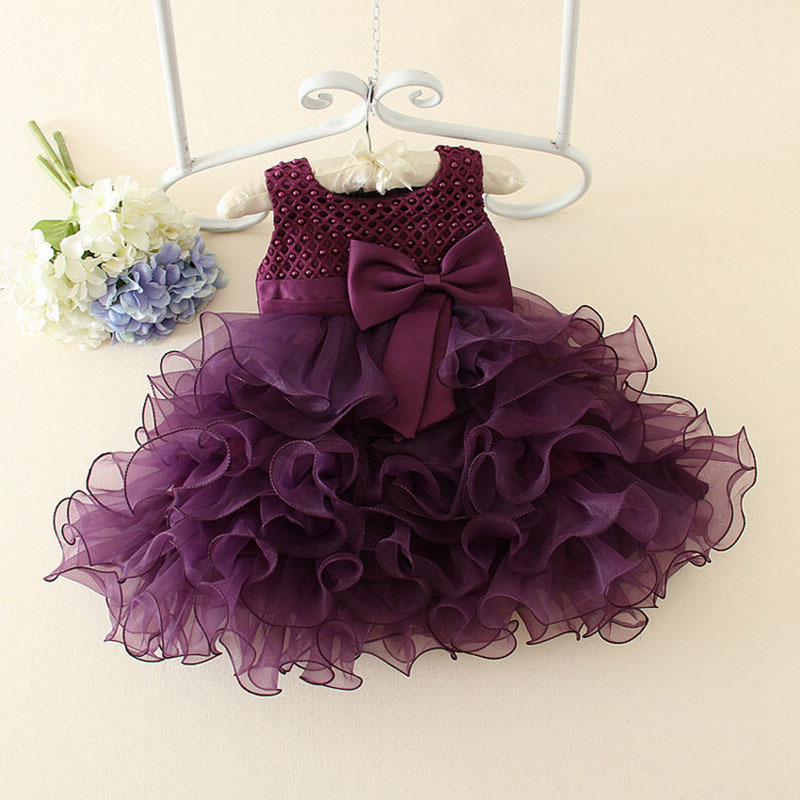 New Fashion Kid Girls Party Wear Western Dress Beautiful Flower Dresses Frock Design Party Dress For Kid Girls