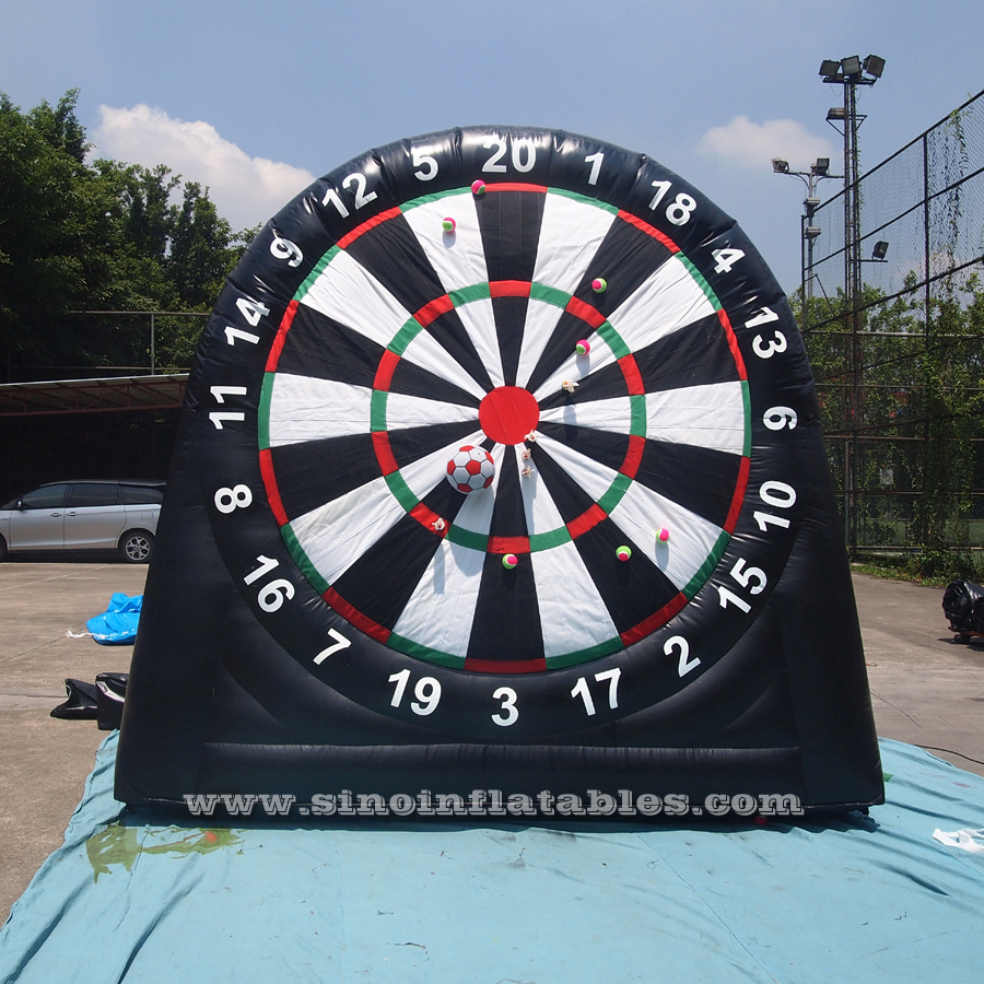 Kids N adults giant inflatable golf dart boards from China inflatable dart game manufacturer