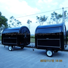 outdoor crepe food concession trailers kiosk