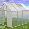 Garden Polycarbonate Greenhouse With Aluminum Frame