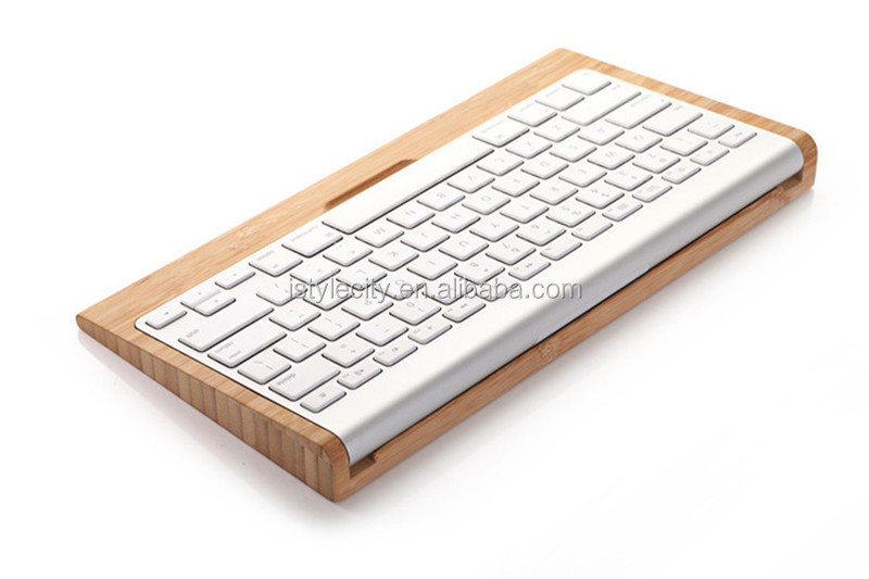 Craft Wood Bluetooth Keyboard Stand Holder for Apple Mac Pro Computer
