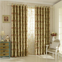 Chinese supplier new jacquard curtain blinds fabric 100% polyester