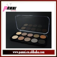 trendy 10 color waterproof eyeshadow palette professional makeup case