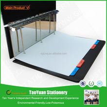 TaoYuan Stationery Supply 2014 new products A3,A4 paper file folder,strong 3 pipe ring binder