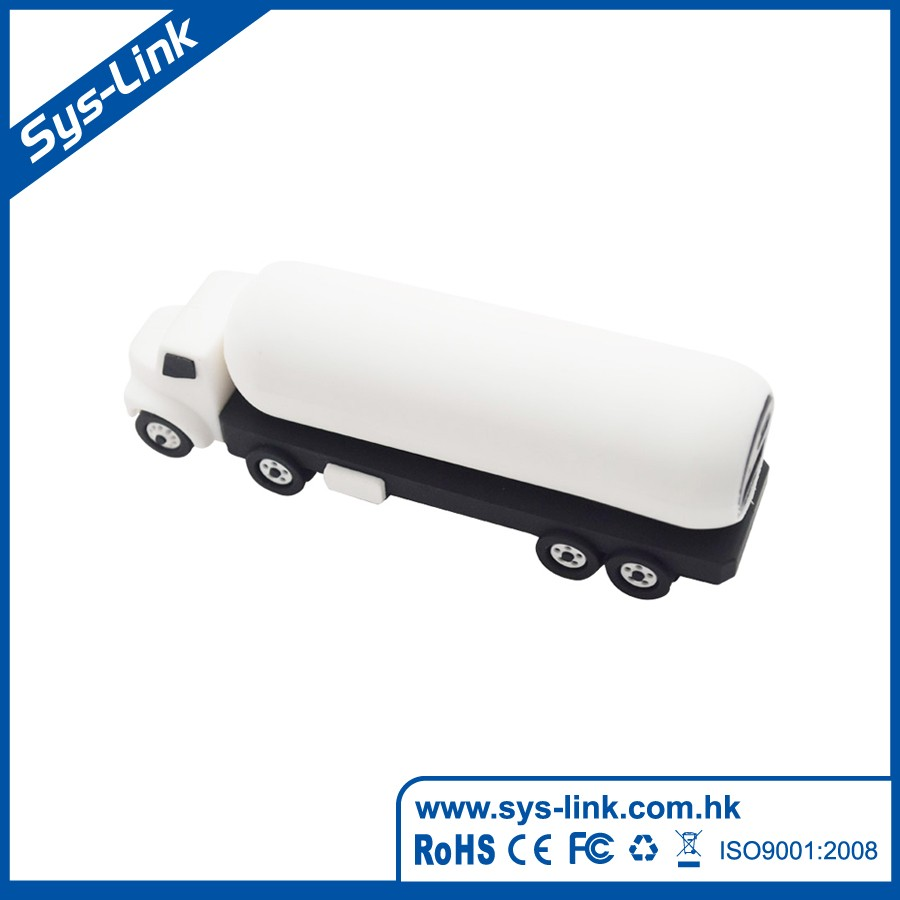 Tank Truck shape soft pvc power bank 2600