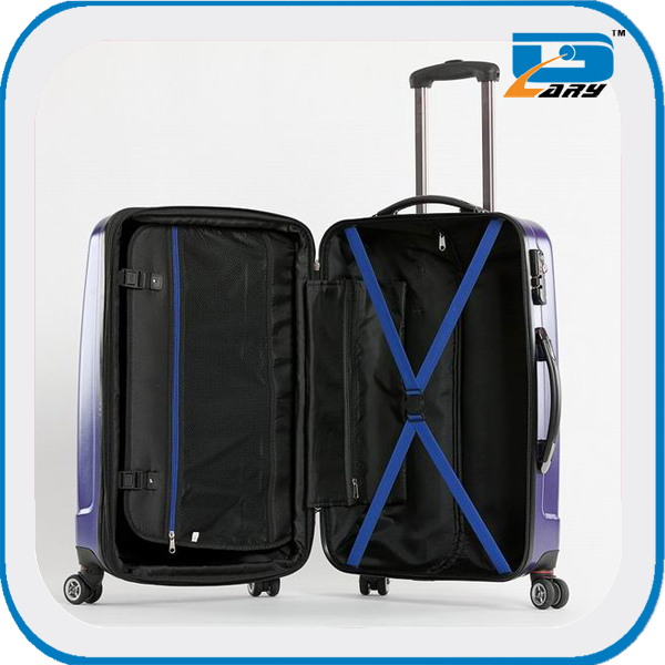 Best-selling style abs+pc trolley case luggage