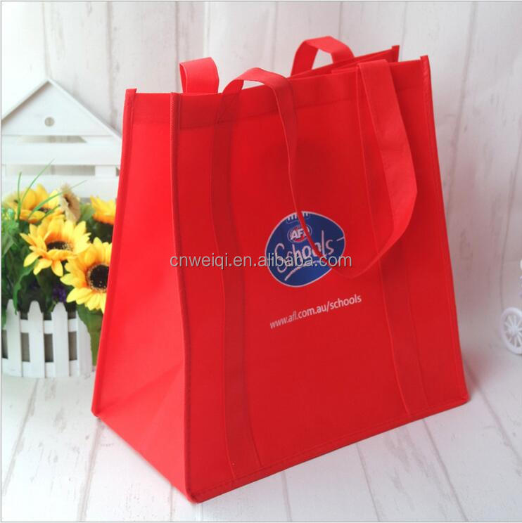 Recycled Pet pp non woven bag with zipper small making machine manual