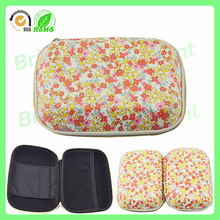 floral eva travel cosmetic bag/case