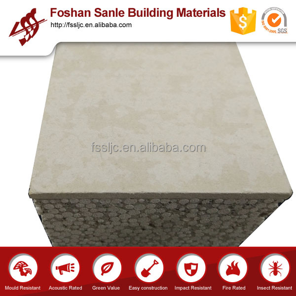 EPS foam concrete sandwich panel /fireproof and thermal insulation /sound insulation sandwich panle