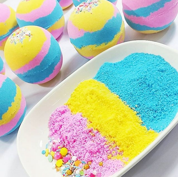 Natural Beauty Fizzing Bath Bombs OEM ODM Factory