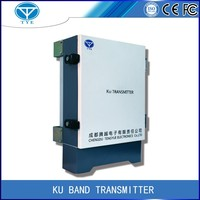 long distance ku band microwave transmitter and receiver