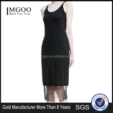 MGOO Latest Special Design Wholesale Vestidos Factory Sun Dress For Girl Black Sexy Night Wearing Women Clothing M142SKT163