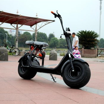 2000w/1500w electric chopper motorcycle with saddle bag