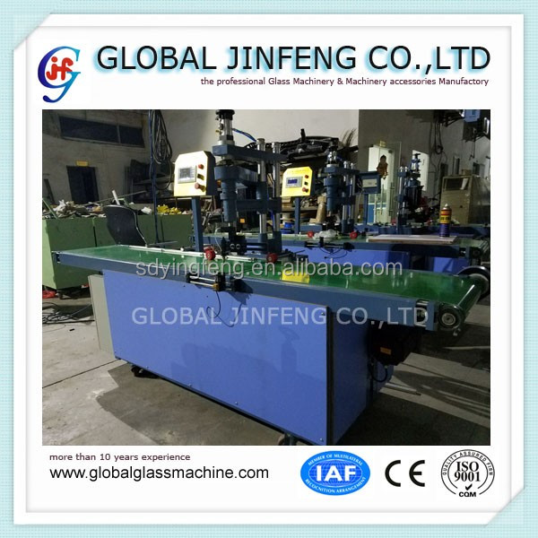 JFC-300 automatic Glass circle cutting machine small size