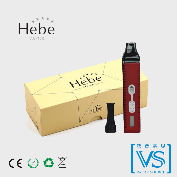 Best dry herb Vaporizer pen with huge heating chamber Hebe vapor, factory supply aromatherapy titan 2 vaporizer