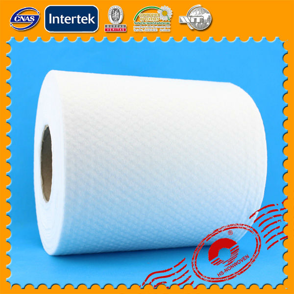 spunlace nonwoven fabric in roll for non-woven towel roll