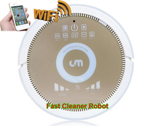 Smartphone WIFI App control robot home <strong>vacuum</strong> cleaner and air purifier together with water tank,3350MAH Lithium battery