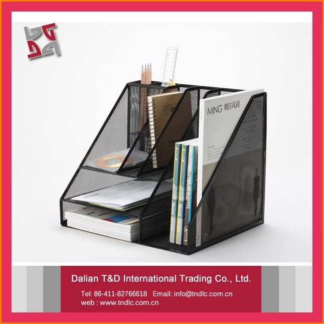 B8021 Good Quality Low Price Office Stationery Desk Organizer Trays Office Paper Tray