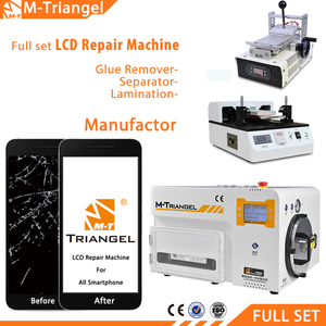 Full Set Automatic Bonding Mobile Phone TouchScreen Glass Separating LCD Panel Repair Machine