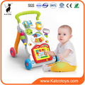 Hot selling baby walker with Musical baby trolley walker