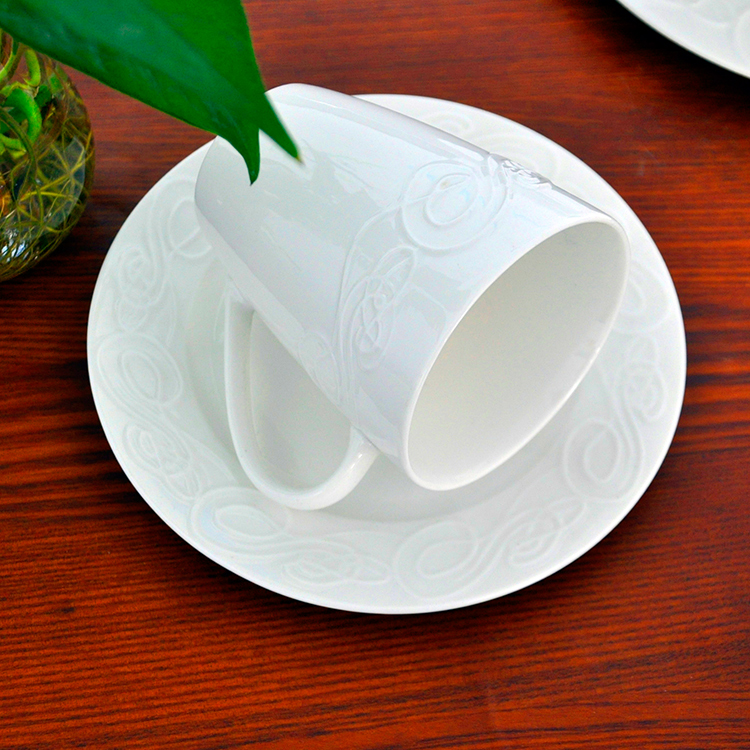 White dinner 16/8 pieces wholesale chinese fine porcelain dinnerware set