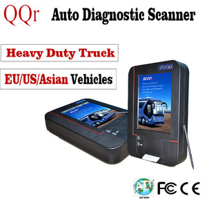 Automotive Universal excavator Heavy Duty Hino Actros Mitsubishi Iveco Diesel Engine Scan Truck Diagnostic Scanner Tool 24V