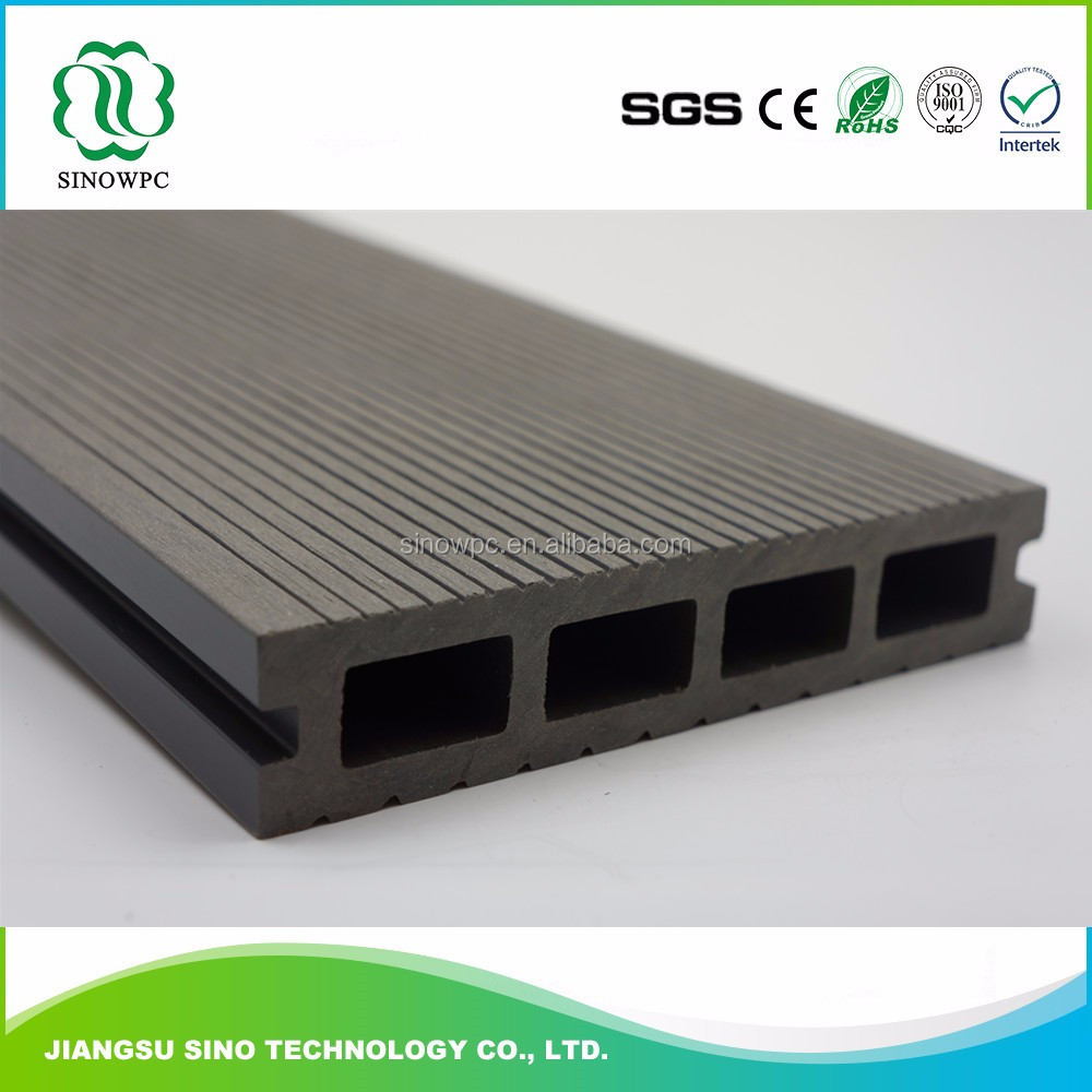walkway outdoor wood plastic composite decking plastic tongue and groove boards
