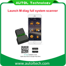 Better than easydiag launch m-diag for IOS&Android launch x431 series full ssytem car scanner m-diag vehicle diagnostic machine