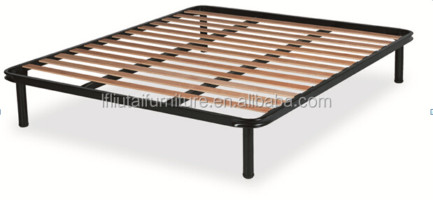 Other furniture part type and solid wood wood style slatted bed base buy wood slat bed base - Bed frame styles types ...