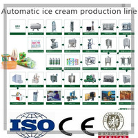 Complete Ice Cream Production Factory Turn
