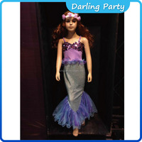 amazing kids princess kids party dress for girls