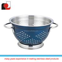 Top Sales Difference Size Metal Fruit Colander with Color