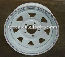 directional trailer steel wheel