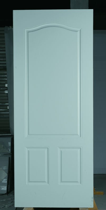 3 Panel Steel Door,Interior Door white colour made in China