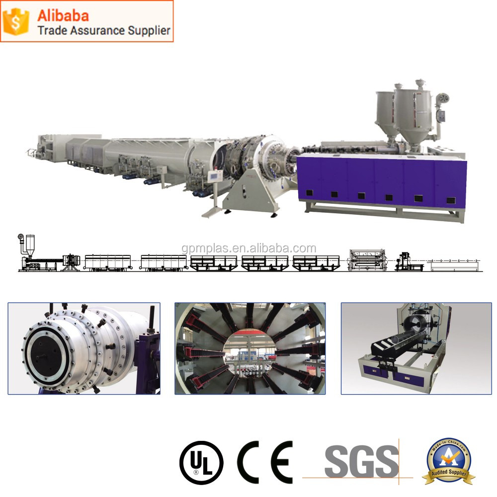 High quality LDPE PIPE CO- EXTRUSION LINE
