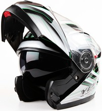 DOT approved dual visor flip up motorcycle helmet YEMA helmet YM-925
