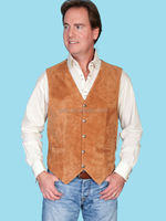 Custom Printed or Embroidery sleeveless leather hunting vest