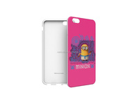 silicon material minions pc phone case for retail market
