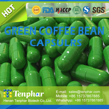 Natural Herbal Chinese Diet Pills Green Coffee Bean Extract Powder Tablets