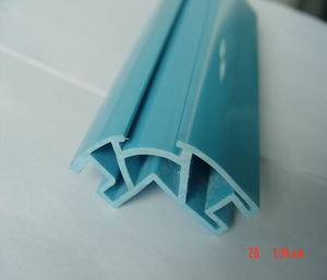 PVC Profile Guards Turn Angle Protector Plastic Extrusion Profiles