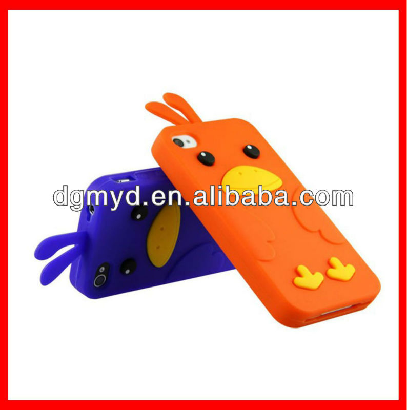 Cute Silicone Cases for iphone 5 case, Mobile phone cases/assessories