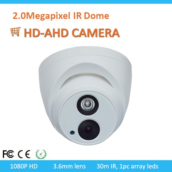 New model ahd dome cctv array ir led camera